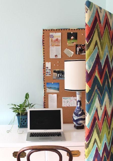 Bulletin Board Room Divider