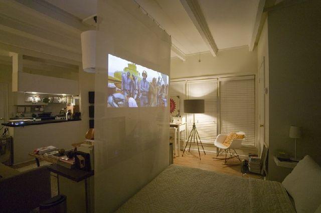 Projector Screen Room Dividers