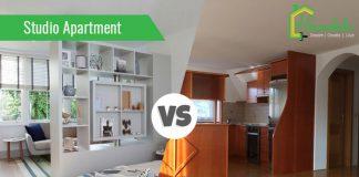 Studio Apartment Vs One Bedroom