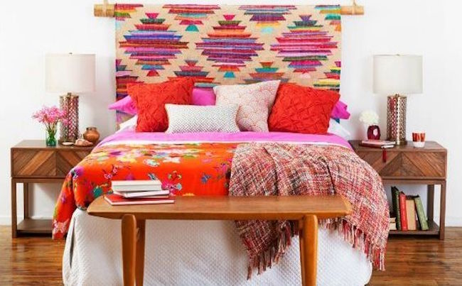 Bohemian Bedroom Color Schemes