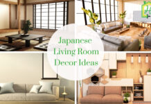 Japanese Living Room Decor
