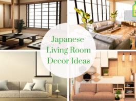 Japanese Living Room Decor